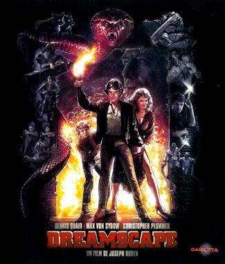 Dreamscape (1984), le blu-ray français de 1984