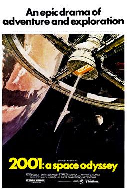 2001, l'odyssée de l'Espace, le film de 1968