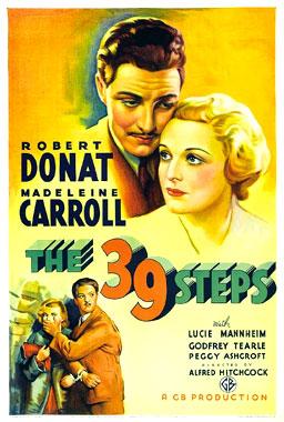 Les 39 marches, le film de 1935.