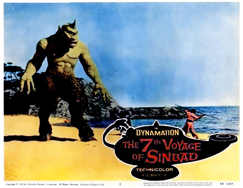 Le septième voyage de Sinbad, le film de 1958