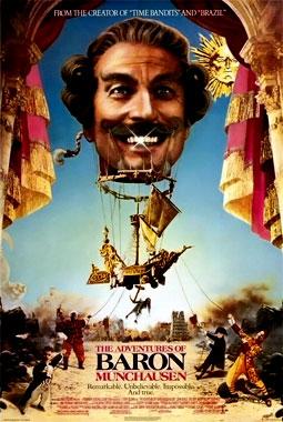 Les aventures du baron de Muchausen, le film de 1988