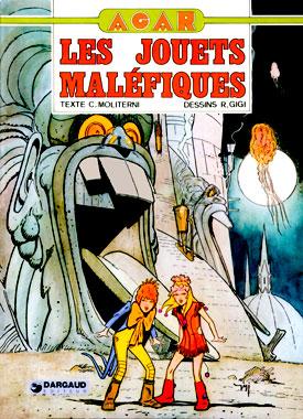 Agar 01: Les jouets maléfiques, la bande dessinée de 1974