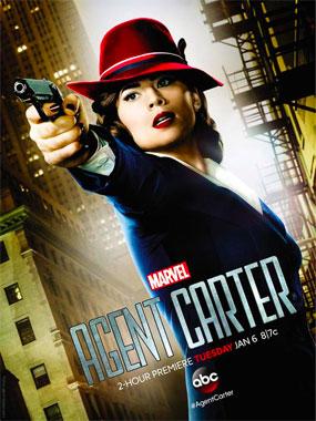 Marvel Agent Carter 2015 poster saison 1