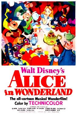 Alice au Pays des Merveilles, le film animé de 1951