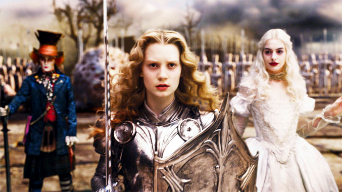 Alice au Pays des Merveilles, le film de 2010