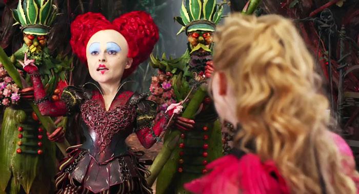 Alice de l'autre côté du miroir, le film de 2016