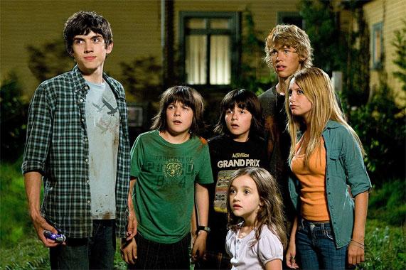 Les zintrus, le film de 2009