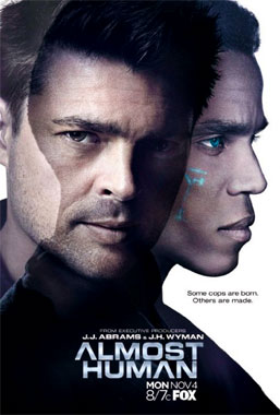 Almost Human (2013) poster