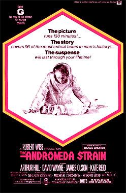 Le mystère Andromède, le film de 1971