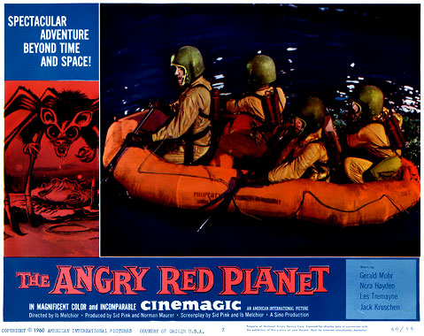 The Angry Red Planet, le film de 1959