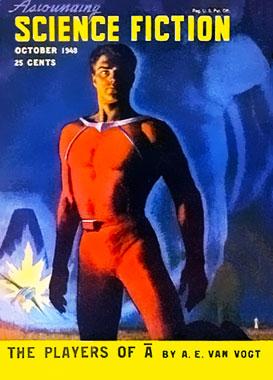 Astounding Science-Fiction, le numéro d'octobre 1948