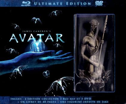 Avatar (2009) le coffret blu-ray ultimate (version extended et statuette)