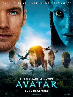 Avatar, le film de 2009 (poster français)
