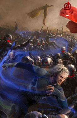 Avengers: L'ère d'Ultron (2015) poster Quicksilver