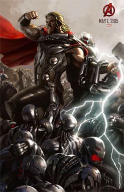 L'ère d'Ultron (2015) Poster Thor