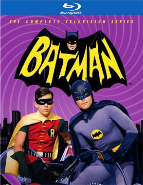 Batman, la série télévisée de 1966, le blu-ray américain