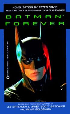 Batman Forever, la novélisation de 1995