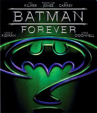 Batman Forever (1995), le blu-ray français de 2009