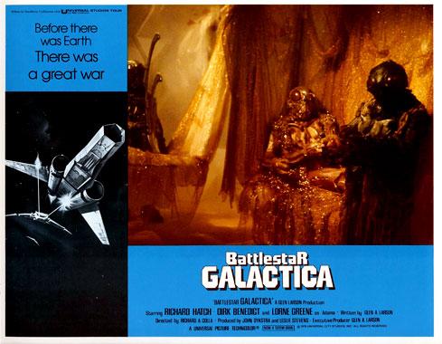 Galactica, la bataille de l'Espace, le film de 1978