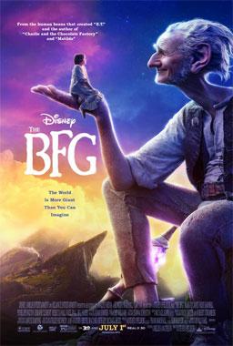 Le bon gros géant, le film de 2016