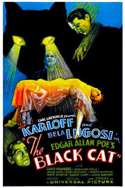 Le chat noir, le film de 1934
