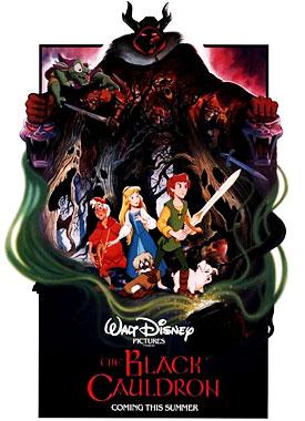 Taram et le chaudron magique, le film animé de 1985