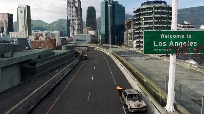 Blood Drive S01E01: Le f...tu flic (2017)
