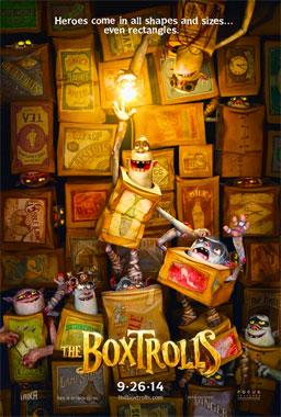Les BoxTrolls, le film animé de 2014