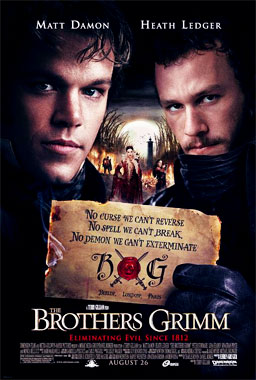 Les frères Grimm, le film de 2005