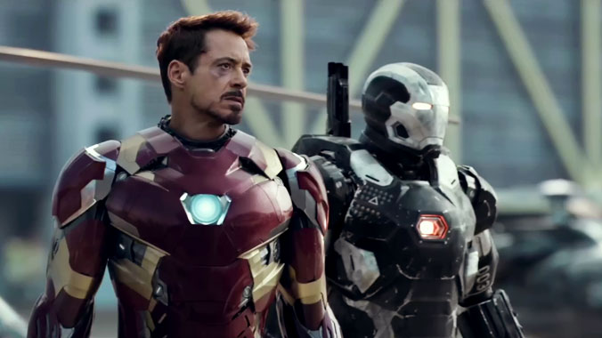 Captain America: Civil War, le film de 2016