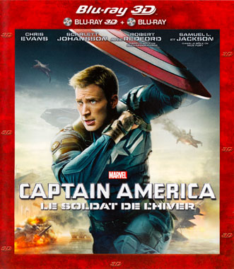 Captain America 2, le soldat de l'hiver (2014), le blu-ray français de 2014