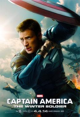 Captain America 2: Le soldat de l'hiver, le film de 2014 poster