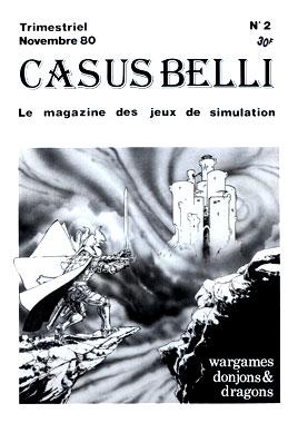 Casus Belli, le numéro 2 de novembre 1980