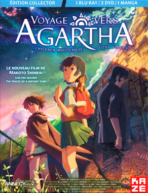 Voyage vers Agartha (2011), le blu-ray français de 2012