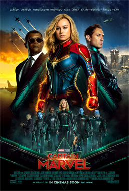 Captain Marvel, le film de 2019