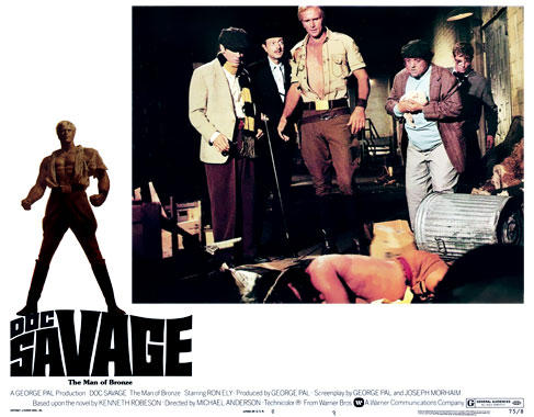 Doc Savage arrive ! le film de 1975