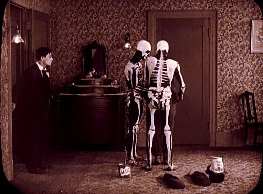 Malec chez les fantômes, le film de 1921