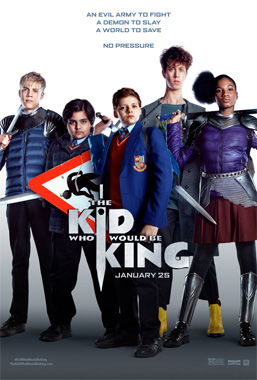 The Kid Who Would Be King, le film de 2019