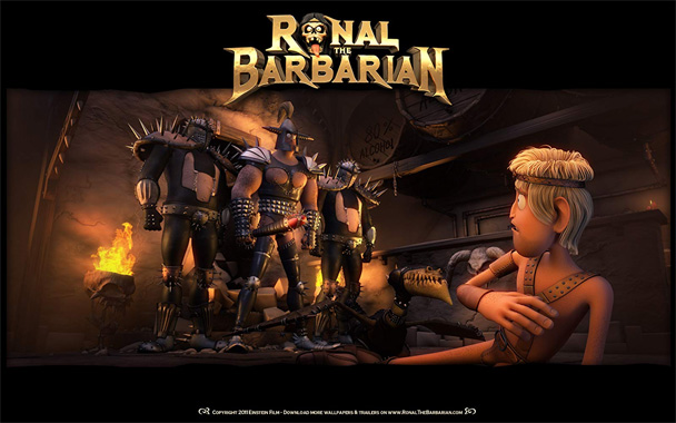 Ronal le Barbare, le film animé de 2011