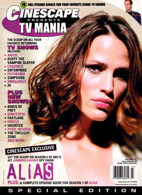 Cinescape presents TV Mania automn 2002