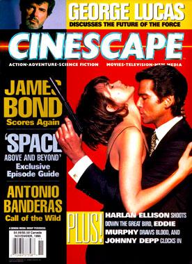Cinescape Volume 2 numéro 2, le numéro de novembre 1995