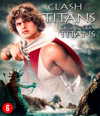 Le choc des Titans, le blu-ray belge du film de 1981