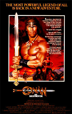 Conan le Destructeur, le film de 1984