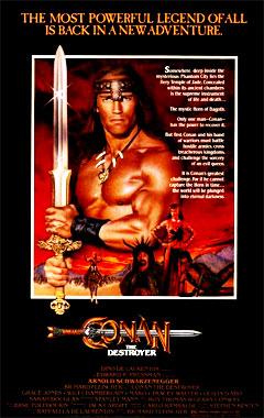Conan le Destructeur, le film de 1984