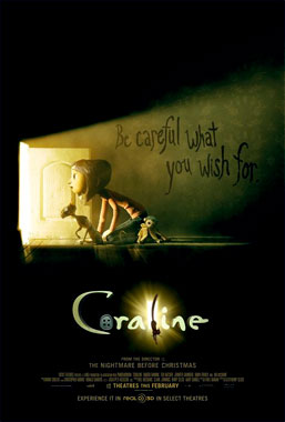 Coraline, le film animé de 2009