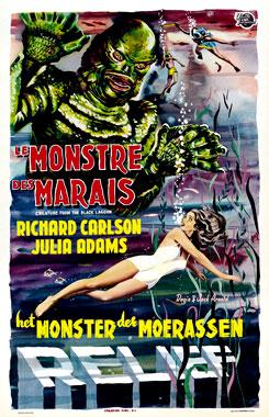 L'étrange créature du lac noir, le film de 1954