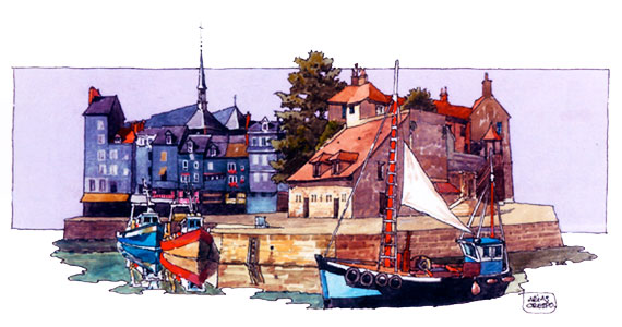 Honfleur, Angel Arias-Crespo