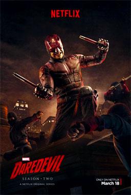 Daredevil, la saison 2 de 2016 de la série télévisée de 2015