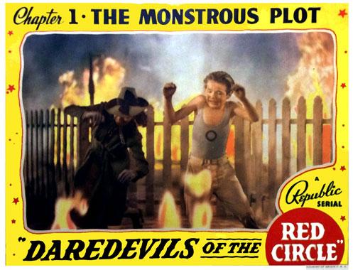 Les trois diables rouges, le serial de 1939