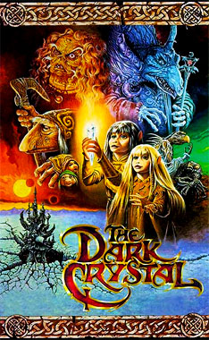 Dark Crystal, le film de 1982 (poster)